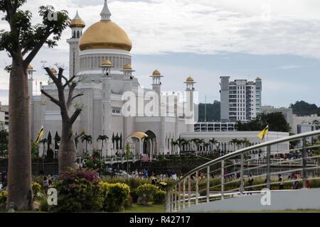 Brunei Darussalam SOAS Mosque - Stock Photo