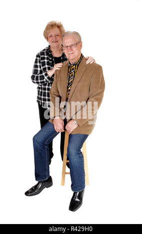 Happy middle age couple. - Stock Photo