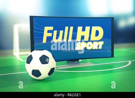 sport on full hd format - Stock Photo