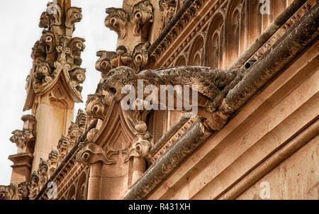 Toledo gargoyle - Stock Photo
