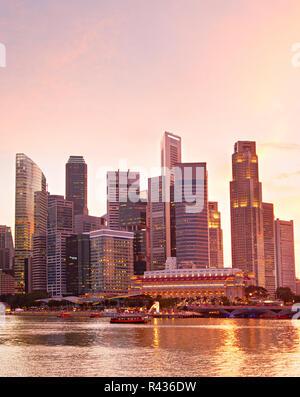 Singapore metropolitan - Stock Photo