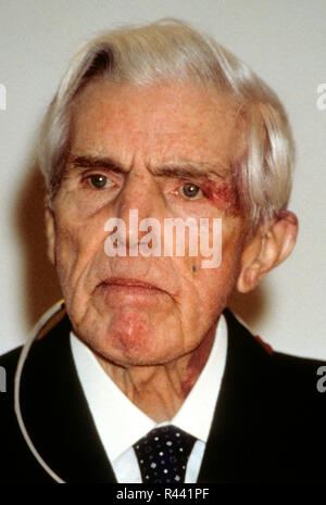 TRYGVE HAAVELMO  Norwegian Economist and Nobel prize winner in economy - Stock Photo