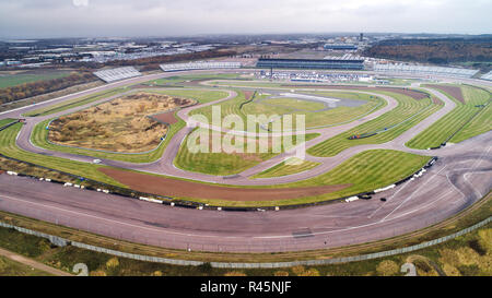 ... Rockingham Motor Speedway in Northamptonshire, famous for having Europes fastest banked oval race circuit,