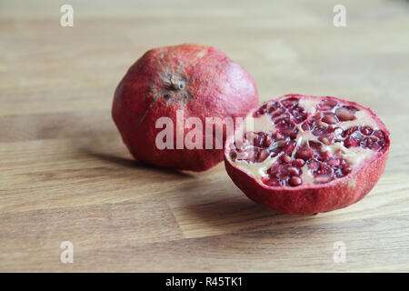 Pomegranate, close up - Stock Photo