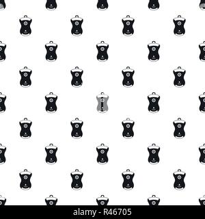 Gps device location pattern seamless vector repeat geometric for any web design - Stock Photo