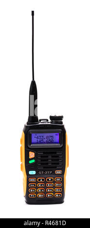 SWINDON, UK - NOVEMBER 18, 2018: BOAFENG GT-3TP Dual Band VHF/UHF Amature tranceiver radio, - Stock Photo