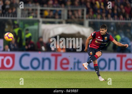 Genoa, Italy. 25th Nov, 2018. Miguel Veloso (Genoa) during the Italian 'Serie A' match between Genoa 1-1 Sampdoria at Luigi Ferraris Stadium on November 25, 2018 in Genova, Italy. Credit: Maurizio Borsari/AFLO/Alamy Live News - Stock Photo