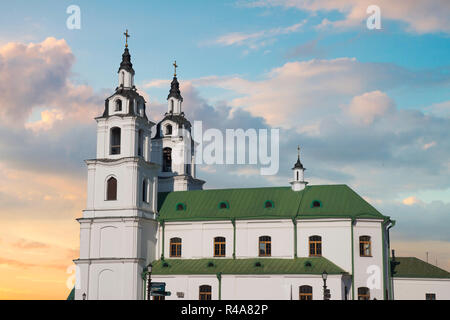 All Saints Church In Minsk, Belarus. Eastern Europe - Stock Photo