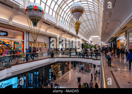 Melbourne, Australia - Christmas decorations in Chadstone shopping centre - Stock Photo