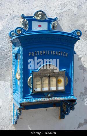 Mailbox, Alsfeld, Hesse, Germany - Stock Photo