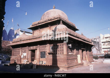 View of Rani Sipri's Mosque, Ahmedabad, Gujarat, India, Asia - Stock Photo