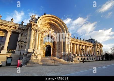 Famous Grand Palais - Big Palace, Paris - Stock Photo
