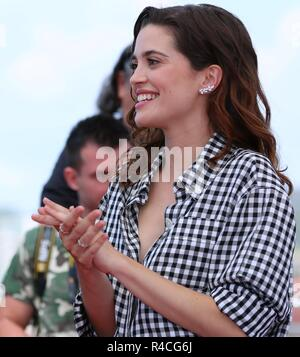 CANNES, FRANCE – MAY 19, 2018: Joana Ribeiro at the 'The Man Who Killed Don Quixote' photocall during the 71st Cannes Film Festival - Stock Photo