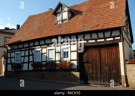 old farmhouse in steinweiler