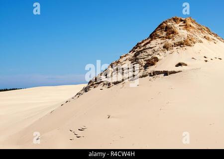 slowinski national park in poland - Stock Photo