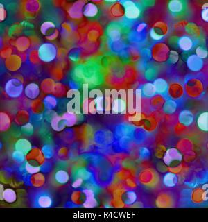 Abstract unfocus lights background - Stock Photo