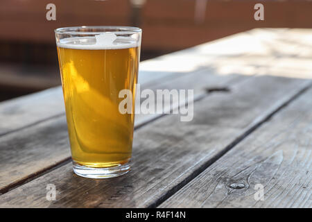 Local Craft Beer Pale Ale - Stock Photo