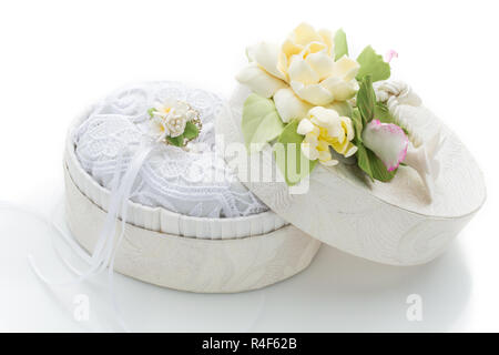 Box for rings - Stock Photo