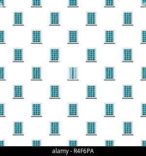 House pattern seamless vector repeat for any web design - Stock Photo