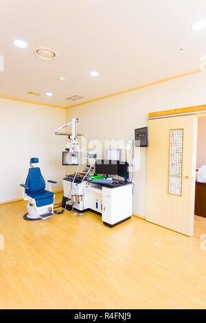 ENT Workstation Healthcare Medical Equipment - Stock Photo