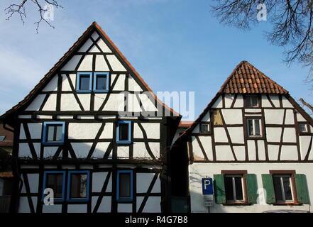 half-timbered houses jockgrim