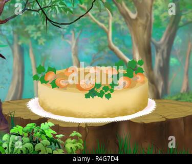 Mushroom Pie - Stock Photo