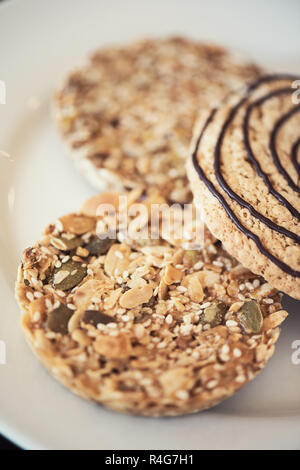 Mixed cookies closeup - Stock Photo