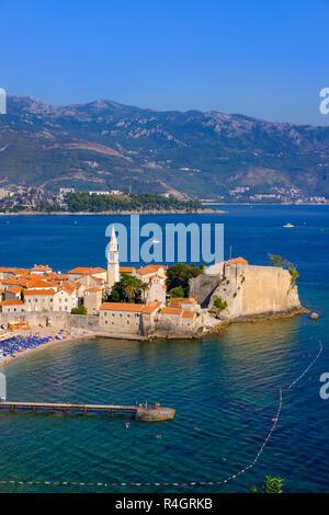 Old Town, Budva, Adriatic Coast, Montenegro - Stock Photo