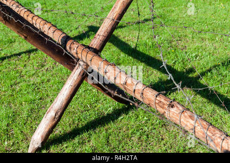 fortifications, close up - Stock Photo