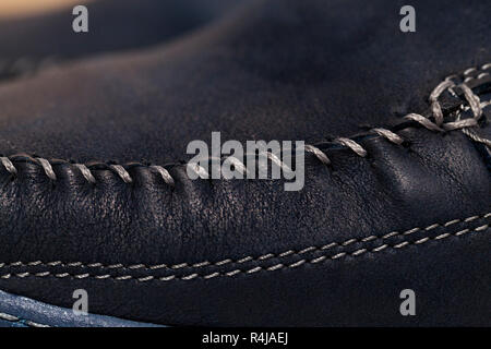 men's shoes, close-up - Stock Photo