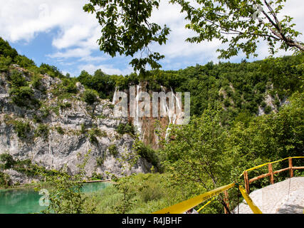Plitvice Lakes National Park .Croatia - Stock Photo