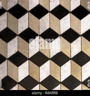 Cube Tiles - Stock Photo