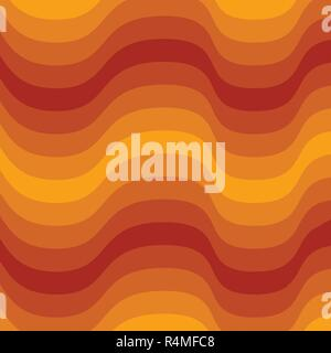 Orange and brown Lava layer pattern background - Stock Photo