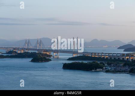 Great Seto Bridge - Stock Photo