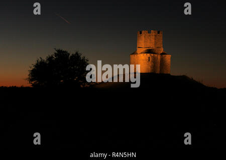 chapel of Saint Nicholas, Nin, Croatia - Stock Photo