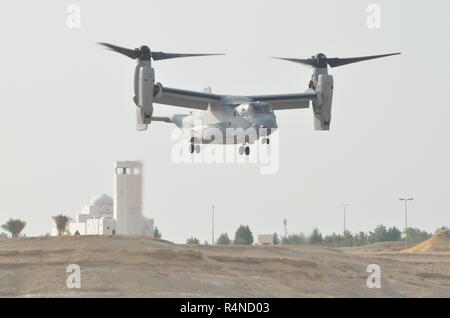 Bell Boeing MV-22 Osprey Tilitrotor - Stock Photo