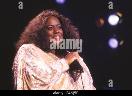 JENNIFER HOLLIDAY American singer at stage - Stock Photo