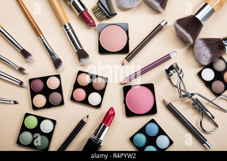 different type of makeup products stock photo  alamy