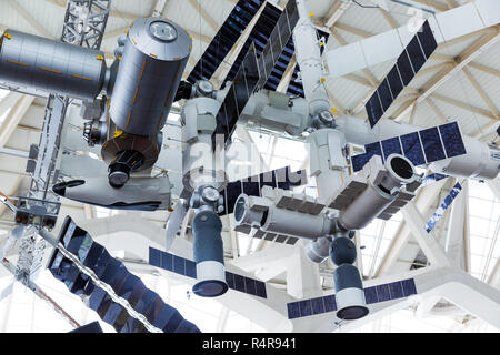 model of the international space station ISS - Stock Photo