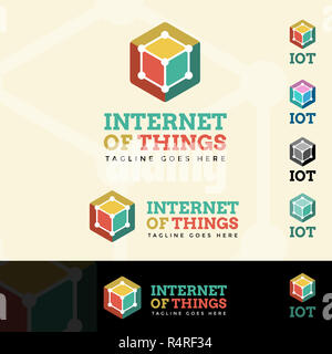 Internet Of Things Logotype - Stock Photo