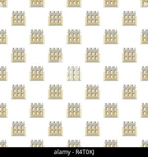 Construction material pattern seamless vector repeat for any web design - Stock Photo