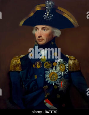 Rear-Admiral Sir Horatio Nelson, Lemuel Francis Abbott, 1799, portrait, - Stock Photo