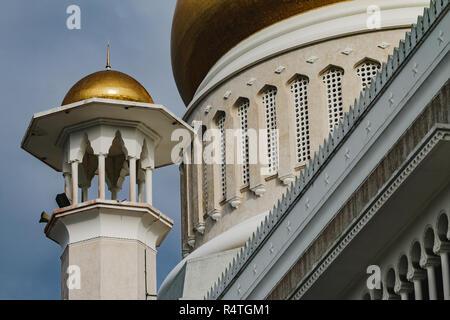 Sultan Omar Ali Saifuddien Mosque - Stock Photo