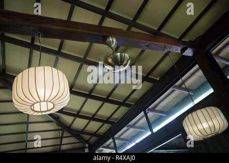 Interior Decorating Hanging Lantern Lamps - Stock Photo