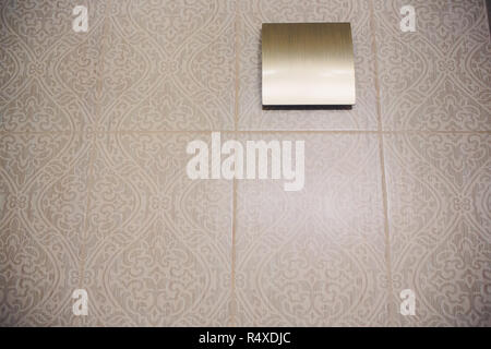 Ceiling Airduct  Clean Air Duct  Toilet Air Ventilate Stock Photo