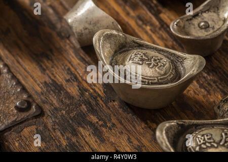 Silver treasure - Stock Photo