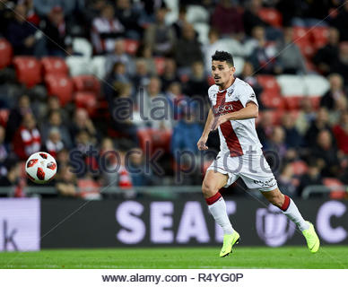 Bilbao, northern Spain, Wednesday, November, 28, 2018. (21) Serdar GŸrler during the Spanish Copa del Rey soccer match between Athletic Club Bilbao and S.D Huesca at San Mames stadium. Credit: Ion Alcoba Beitia/Alamy Live News - Stock Photo