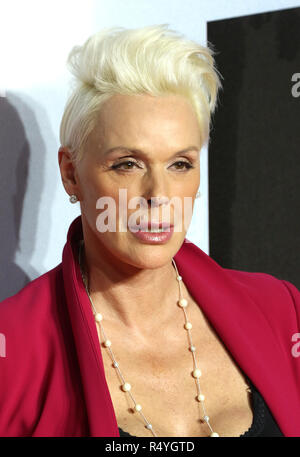 London, UK. 28th November, 2018. Brigitte Nielsen, Creed II - European Premiere, BFI IMAX, London, UK, 28 November 2018, Photo by Richard Goldschmidt Credit: Rich Gold/Alamy Live News - Stock Photo