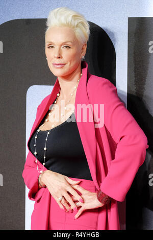 London, UK. 28th November, 2018. Brigitte Nielsen at The European Premiere of CREED II on Wednesday 28 November 2018 held at BFI IMAX, London. Pictured: Brigitte Nielsen. Credit: Julie Edwards/Alamy Live News - Stock Photo