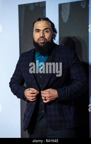 London, UK. 28th November, 2018. attends the European Premiere of 'Creed II' at BFI IMAX on November 28, 2018 in London, England. Credit: Gary Mitchell, GMP Media/Alamy Live News - Stock Photo